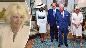 Camilla mrká o pomoc na bodyguardy! Chtěla chránit před Trumpem?