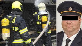 Pražští hasiči truchlí: Náhle zemřel jejich kolega Honza z Řep