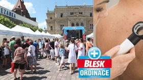 Odhalení lékařů v Blesk Ordinaci v Opavě: 7 zhoubných nádorů kůže, cukrovky, rizikový vysoký tlak