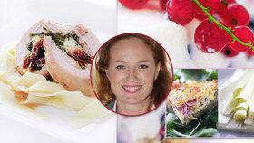 Sexy herečka Markéta Hrubešová (47) v kuchyni: Ochutnejte její domácí recepty!