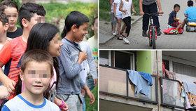 Děti bez dozoru, výkaly i kšeft s chudobou. Mojžíř v Ústí je peklem starousedlíků