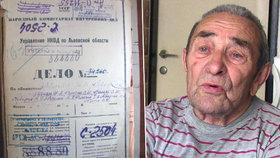 Zemřel jeden z posledních vězňů gulagu. Michal (†98) přežil stalinské peklo