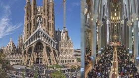 Sagrada Familia má v Barceloně konečně povolení. Katedrála si počkala 137 let
