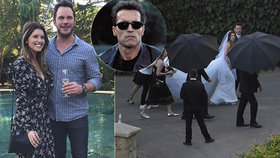 Svatba hvězdy Avengerů s dcerou Terminátora Schwarzeneggera: Přišla i ženichova bývalka!