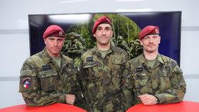 Vysílali jsme: První záložáci mají za sebou výcvik výsadkářů. Jaký byl?