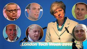 """Kdo povede Británii? Mayová to jako lídr vládních konzervativců """"zabalila"""""""