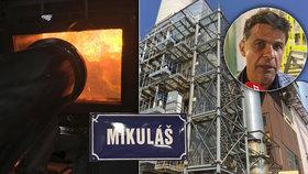 """Pražský odpad nově spaluje """"Mikuláš"""". Ředitel spalovny pojmenoval kotel po svém synovi"""