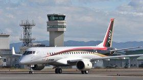 Konkurence Airbusu a Boeingu? Japonská letadla jsou menší, ale pohodlnější