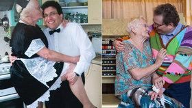 Manžele dělí 40letý věkový rozdíl: Po transplantaci ledviny jsme v ložnici zase aktivní, pochvaluje si Edna (83)