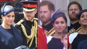 Drsná hádka Meghan a Harryho před královnou?! Jejich tváře mluví za vše