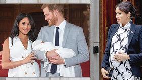 Archie bude mít sourozence? O těhotenství Meghan už mají Britové jasno