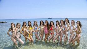 Missky, šup do plavek! Pekelně žhavé soustředění finalistek České Miss 2019
