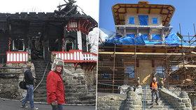 Za požár Libušína je znovu obžalován kominík! Hrozí mu až 8 let za mřížemi