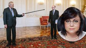 """Šéfka bulharských socialistů má """"Sobotkovu školu"""". Cukla z oznámené demise"""