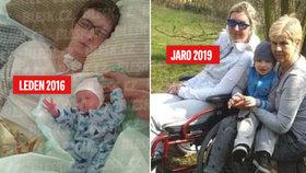 Neuvěřitelný příběh Veroniky (36): V kómatu porodila syna a pak se probudila! Mluví česky i německy