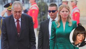 První oficiální návštěva Čaputové očima Františky: Nemístné chyby při dobrém začátku