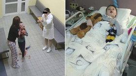 Nemocnice, kde málem vykrvácel Adámek: Už žádné řezání krčních mandlí