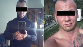 Vojtěch Š. (34) hodil sekerou po matce, jejího přítele málem utloukl: Temná minulost střelce z Nemyčevsi