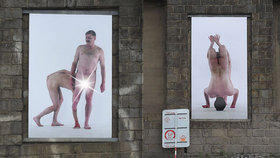 Kontroverzní výstava na Nábřeží kapitána Jaroše? Syrové fotografie nahých hendikepovaných mají vyvolat diskusi