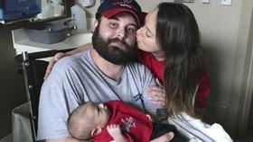 Než ho zabila rakovina mozku, stihl si aspoň pochovat svého syna! I tohle může být štěstí