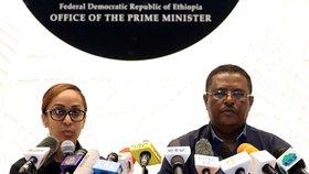 Pokus o puč se změnil v krveprolití: V Etiopii zastřelili šéfa armády i několik politiků