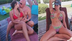 Napadení milenky českého milionář! Vulgarity, ohrožení dětí, závist
