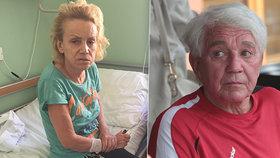 Zlomený Krampol po návštěvě ženy v Bohnicích: Ani mě nepozdravila, chtěla jediné!