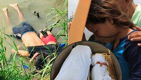 Truchlící máma musela za svou Valerií (†23 měs.) do márnice. Trump viní demokraty