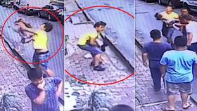 Holčička (2) vypadla z okna: Zázrakem ji chytil kluk, který stál dole