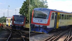 Vlak vykolejil ve Vysokém Mýtě: Škoda je čtvrt milionu korun
