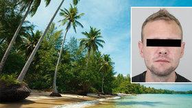 Policisté zatkli v dovolenkovém ráji Davida S. (38): V Thajsku se ukrýval před vězením