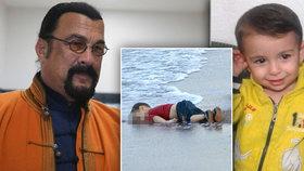 Rodina utonulého chlapečka (†2) zuří: O Alanovi točí film se Seagalem!