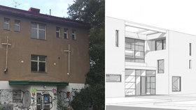 Zdravotnické centrum v Hlubočepích zbourají: Oprav se dočká i chráněný Raudnitzův dům. Co v něm bude?