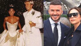 20 let od svatby Davida a Victorie Beckhamových: Láska, která vydělala miliardy!
