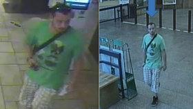 Zloděj okradl spícího muže v metru na Vltavské. Pak začal nakupovat
