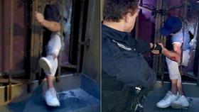 Zloděj (33) řádil po zavíračce v žižkovském baru. Policisté ho obklíčili