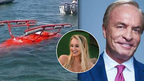 Helikoptéra s miliardářem se zřítila do moře! Zahynul on i jeho dcera