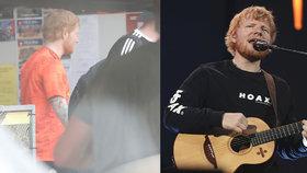 """Ed Sheeran v Praze: Bydlí jako král, ale skočil si """"začutat"""" jako malý kluk"""