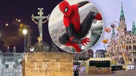 Nový filmový Spider-Man: Za 5 milionů korun prodává Prahu!