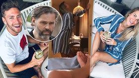 Tohle s Jágrem nemohla! Kopřivová ukazuje intimní hrátky, záběry z ložnice a cukrbliky nemají konce