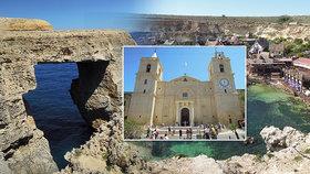 Malta: Zlatý ostrov blahobytu obklopují útesy a tyrkysové moře