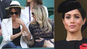 Panovačná Meghan se vystavila před milion lidí na tenise a dala zákaz focení! Vrať se do Ameriky, zuří Britové