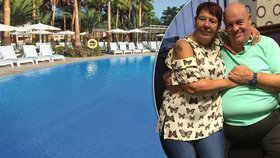 Smrt v dovolenkovém ráji: Manželku (†61) zděšeného muže našli v hotelovém bazénu