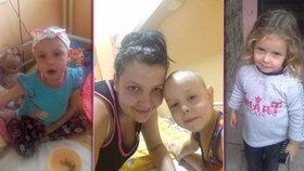 Z andílka ďáblem? Patricie (3) má leukémii a léčba ji změnila, zoufá si máma Andrea