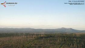 Chladná Libuše přepsala rekordy v Liberci i Plzni. Na Šumavě bylo -5,1 °C