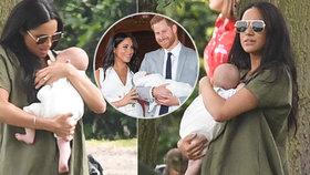 Britové už ji nechápou! Nové láskyplné snímky Meghan s miminkem je šokovaly