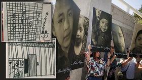 Kresby dětí migrantů děsí lékaře. A holčička (†7) s chlapcem (†8) zemřeli bez pomoci
