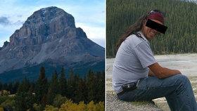 Čecha (†58) zastihla smrt v kanadských horách: Vláďa zemřel při krvavém rituálu
