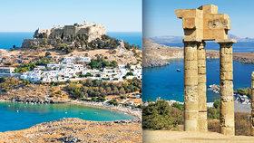 Rhodos: Dotkněte se řecké krásy na ostrově boha Slunce!