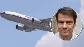 """Divoká teorie o zmizení MH370: Letadlo unesli """"Rusové v potápěčských maskách"""", tvrdí novinář"""